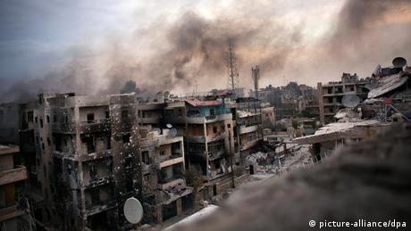 Krieg in Syrien Aleppo ARCHIVBILD 2012 (picture-alliance/dpa)