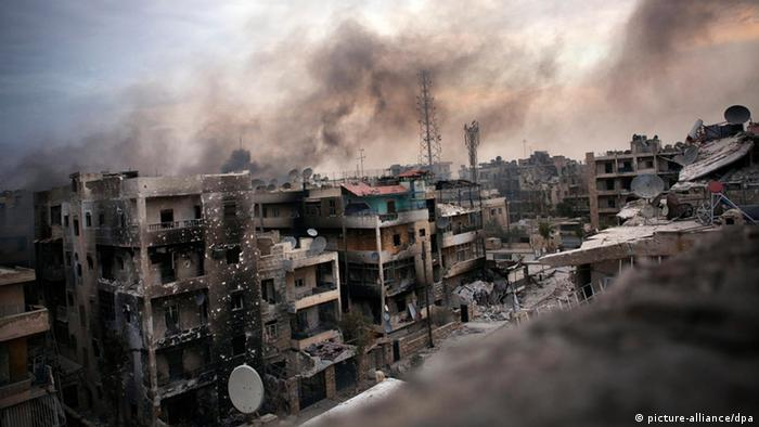 Krieg in Syrien Aleppo ARCHIVBILD 2012 (picture-alliance/dpa)