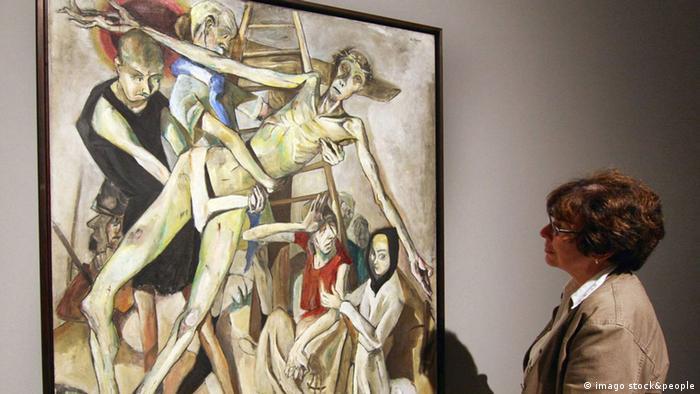 اثری از ماکس بکمن در موزه فرانکفورت