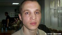 Der freigelassene weißrussische Oppositionelle Dmitry Daschkewitsch, August 2013 , Minsk