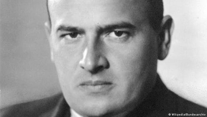 Porträt Hans Frank Generalgouverneur von Polen