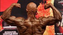 Wettbewerb der Muskelmänner in Mashhad