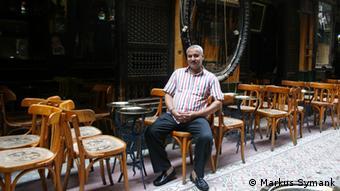 Ein leeres Restaurant in Kairo (Foto: Markus Symank)