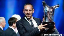 Franck Ribery wird Spieler des Jahres