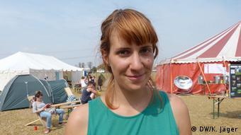 Tatiana from Serbia (Photo: Karin Jäger/ DW)