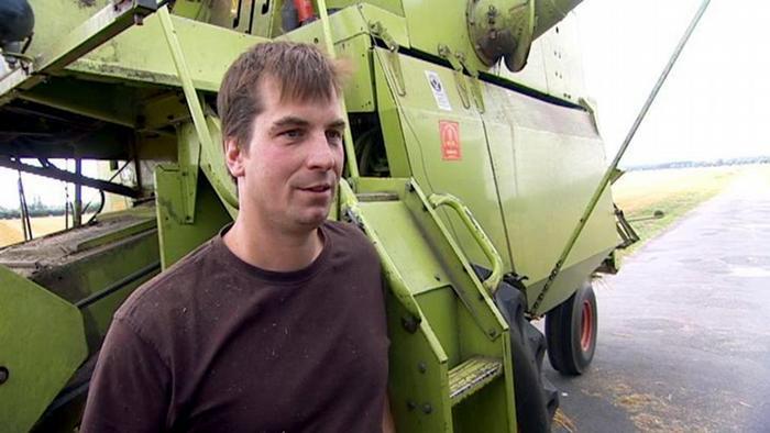 Landwirt Stefan Röhke (Foto: DW)