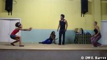 Sao Tome und Principe Theaterstück Cena Lusofona