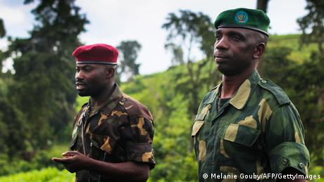 M23 soldiers in DRC