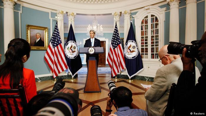 Džon Keri o Siriji u Stejt dipartmentu (30.08.2013.)