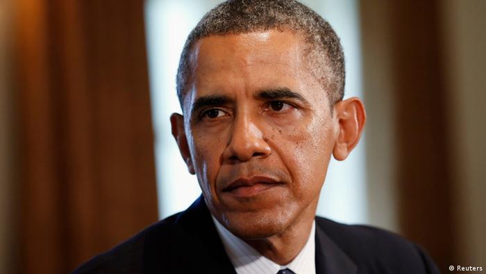 Barack Obama äußert sich zu Syrien (Foto: REUTERS/Kevin Lamarque)