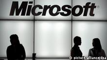 Microsoft logo (picture alliance/dpa)