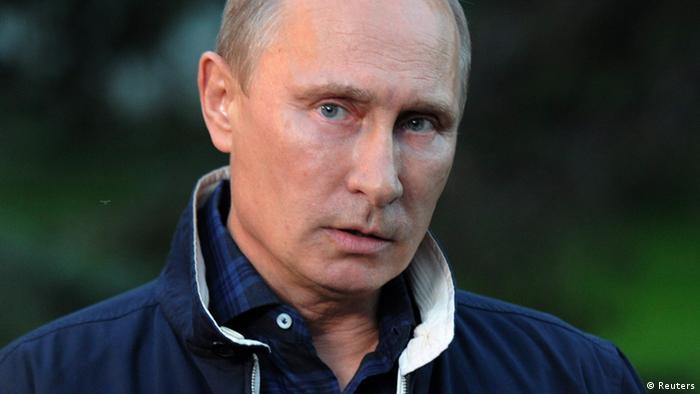 Russland Wladimir Putin Pressekonferenz PK Journalist Syrien Krise