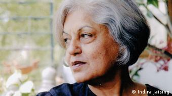 Indira Jaising, a senior lawyer in the Indian Supreme Court and founder of Lawyers Collective