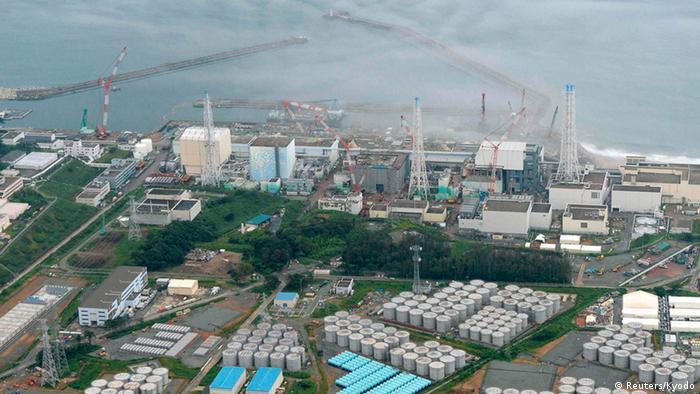 Luftaufnahme des japanischen Fukushima (Foto: Reuters)