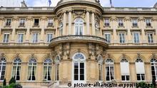 Außenministerium Frankreich Paris