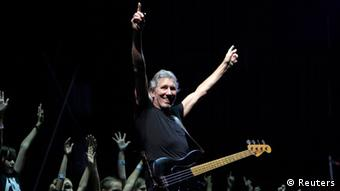 Roger Waters, performing on stage