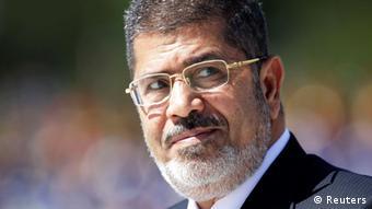 Der ehemalige ägyptische Präsident Mohammed Mursi (Foto: Reuters)