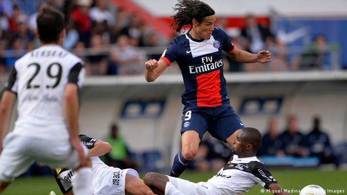 Edinson Cavani in Paris 31.08.2013