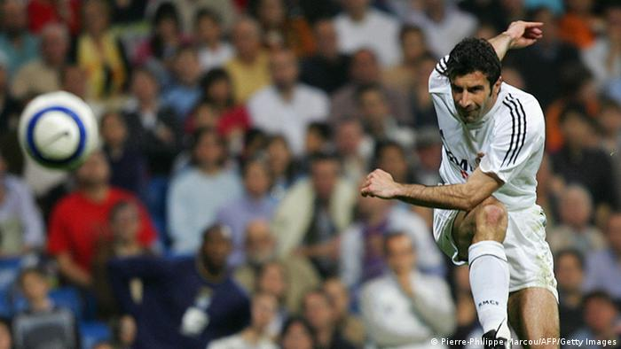 Luis Figo in Madrid 20.03.2005 (Pierre-Philippe Marcou/AFP/Getty Images)