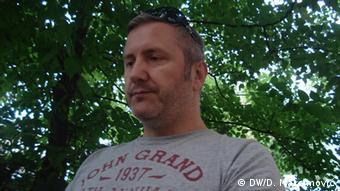 Zeljko Raljic Journalist Bosnien und Herzegowina (DW/D. Maksimović)