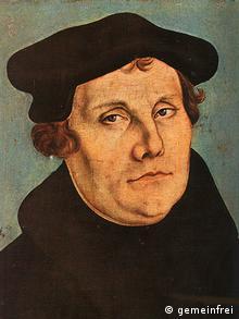 Martin Luther Gemälde von Lucas Cranach