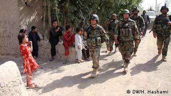Soldaten der Afghanischen Nationalarmee (Foto: DW)