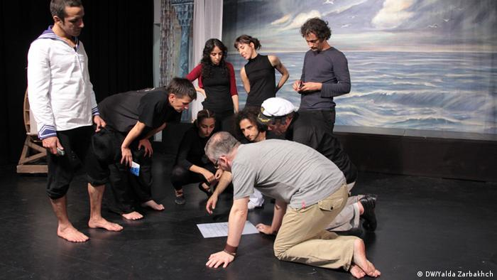 The crew of 'West-Eastern Divan Reloaded' talk onstage