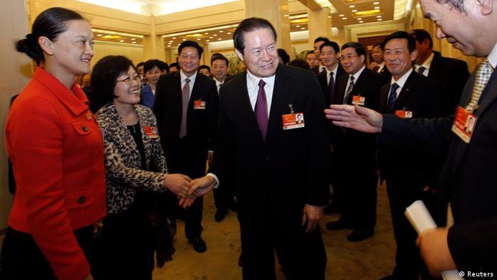 Zhou Yongkang chinesischer Spitzenpolitiker ARCHIVBILD 12.03.2011