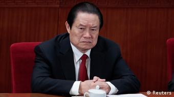 Zhou Yongkang chinesischer Spitzenpolitiker ARCHIVBILD 14.03.2012