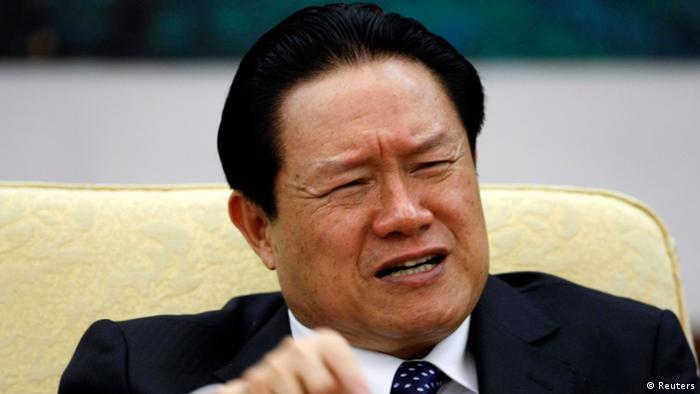 Zhou Yongkang chinesischer Spitzenpolitiker ARCHIVBILD 16.10.2007