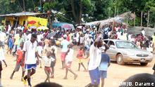 Straßenfußball Meisterschaft Guinea