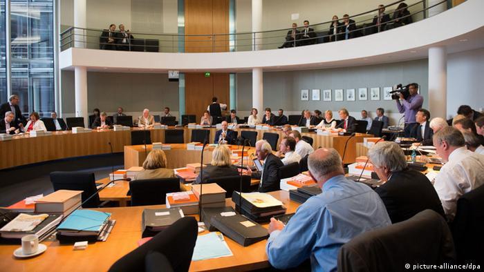 Заседание бюджетного комитета бундестага (фото из архива)