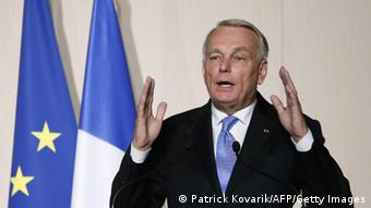 Former French Prime Minister Jean-Marc Ayrault