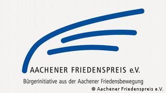 Логотип Аахенської премії миру