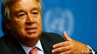 Antonio Guterres, Hoher Flüchtlingskommissar der Vereinten Nationen (Foto: Reuters)