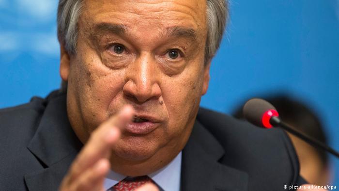 Генеральный секретарь ООН Антониу Гуттериш (фото из архива)