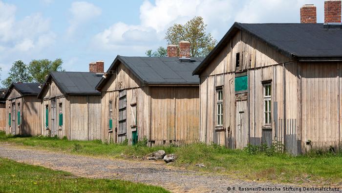 Preostale barake logora Zandbostel