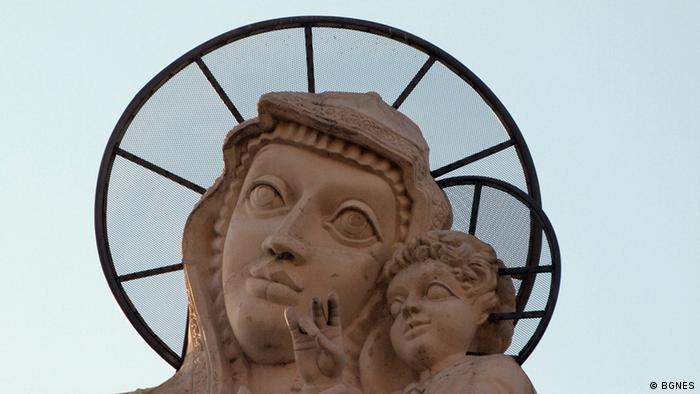 Statue der Heiligen Mutter Gottes in Haskovo