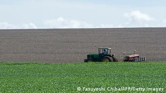 Brasilien Landwirtschaft Soja Anbau in Cerrado (Foto: Yasusoshi Chiba/AFP/Getty Images)