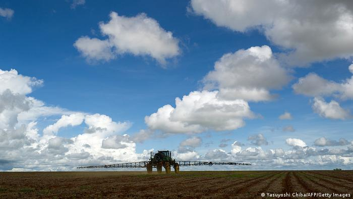 Brasilien Landwirtschaft Soja Anbau in Cerrado