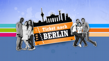 Ticket nach Berlin Logo