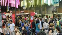 Buchmesse in Rio für die Kultur, hier zu sehen: Deutscher Stand auf der Buchmesse Bienal do Livro in Rio de Janeiro, 1.9.2013. Copyright: DW/Philipp Barth