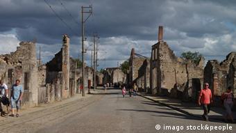 Frankreich Ruinen Oradour-sur-Glane