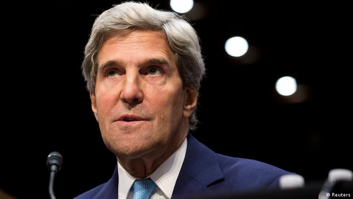 John Kerry äußert sich zum Syrien-Konflikt (Foto: Reuters)