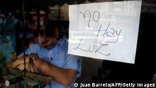 Caracas Stromausfall 03.09.2013