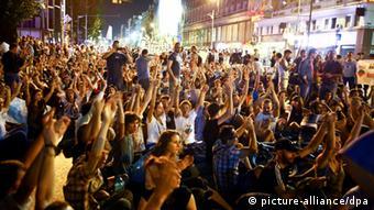 Από τις πρόσφατες διαμαρτυρίες
