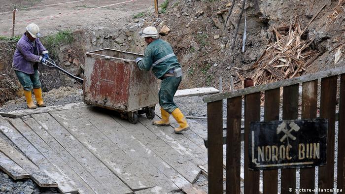 Arbeiter Rosia Montana Gold Corporation
