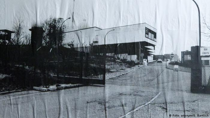 Entrance to the facility in the 1970s (Photo: Silke Bartlick, Deutsche Welle)