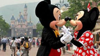 Mickey Mouse erreicht China