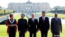 G20 Gipfel Russland Sankt Petersburg Vertreter BRICS